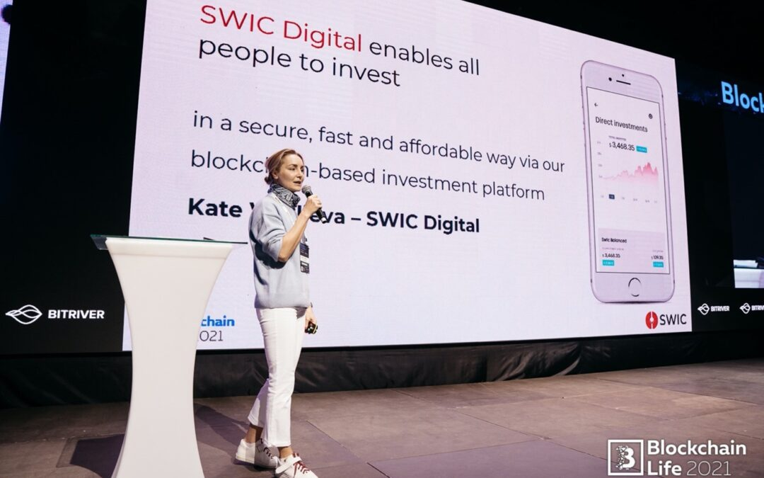 SWIC DIGITAL – Best Pitch winner at the Blockchain Life Forum 2021, Moscow, Russia